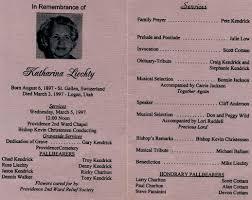 sle funeral programs wording photos and histories walker s wanderings