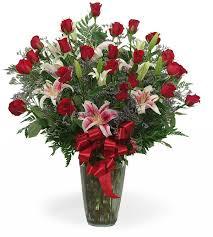 3 dozen roses 3 dozen roses with stargazer lillies in atlanta ga chelsea