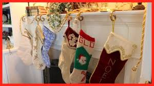 idea for hanging your christmas stockings youtube