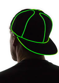 collections light up hats neon nightlife