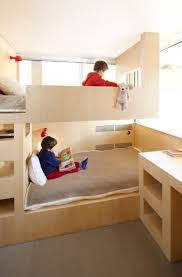 Cool And Functional BuiltIn Bunk Beds For Kids DigsDigs - Kids built in bunk beds
