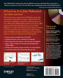 What Is A Spreadsheet Software Excel 2010 Bible Amazon Co Uk John Walkenbach 9780470474877 Books