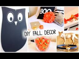 How To Decorate Your Home For Cheap Diy Fall U0026 Halloween Room Decor Ways To Decorate 2014 Youtube