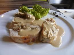 cuisiner des blancs de poulet moelleux filet de poulet farci à la duxelle de chignons et combawa de