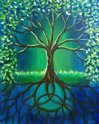 tree painting ideas easy tree painting best tree paintings ideas on