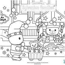 Coloriage Maison Sylvanian Families 17 Coloring Pages Of Calico