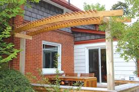 build an arched pergola canadian woodworking magazine