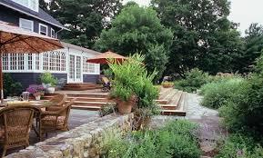 Sloped Backyard Landscaping Ideas Backyard Landscape Design Of Worthy Ideas About Sloped Backyard