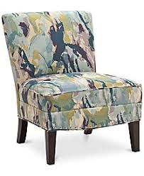 Fabric Armchairs And Ottomans Accent Chairs And Recliners Macy U0027s