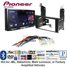 2006 lexus gs430 dvd player pioneer avh x490bs double din dvd cd player car radio install