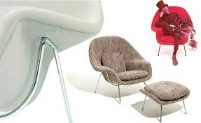 womb lounge chair u0026 ottoman hivemodern com