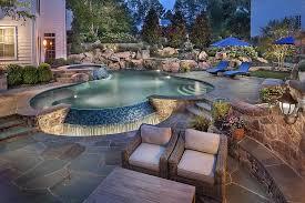 rock waterfalls for pools rock waterfalls for swimming pools backyard design ideas
