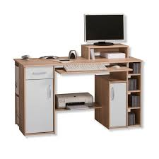 Schreibtisch Mit Aufsatz Holz Computertisch Mit Aufsatz
