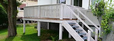 balkon mit treppe chestha dekor bauen treppe