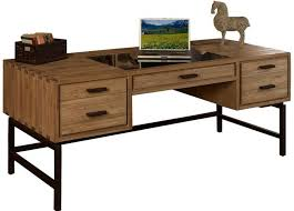 Small Solid Wood Desk Furniture Best Unfinished Solid Wood Desk With Metal Legs Best