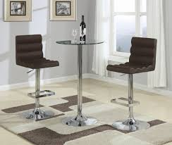 Glass Bar Table Table Bar 24 60 Cm Diameter Jf Bar Stools Montreal