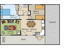 resort floor plan cottage floor plan picture of kianinny bush cottages tathra