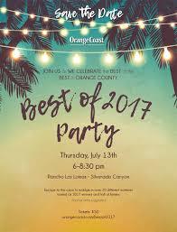 orange coast best of 2017 party orange coast