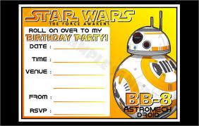 star wars birthday invites star wars birthday invites with