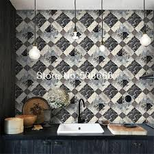 Wallpaper For Kitchen Walls by Kitchen Pvc Wall Paper Marble Design Wallpaper Faux Tile Wall