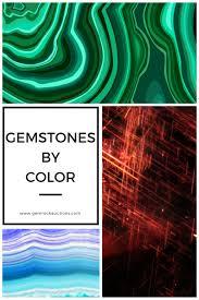 gemstone colors list of gemstones by color gem rock auctions