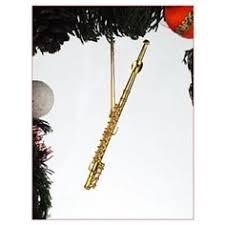 black bass clarinet tree ornament my daughter plays the bass