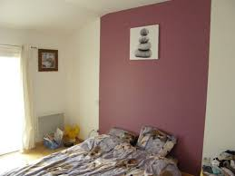 chambre peinte awesome couleur peinture chambre adulte photo gallery design
