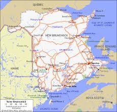 map new map new brunswick tours maps