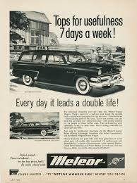 car ads directory index ford of canada ads cars 1950s