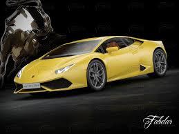 Lamborghini Huracan Lp 610 4 - lamborghini huracan lp 610 4 3d model in sport cars 3dexport