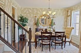 Dining Room Chandeliers Transitional Dining Room With Carpet U0026 Interior Wallpaper Zillow Digs Zillow