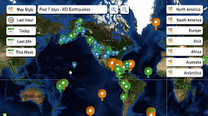 Usgs Real Time Earthquake Map Live Earthquake Map Android Apps On Google Play