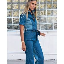 blue jean jumpsuit 65 stoned immaculate stoned immaculate blue jean baby