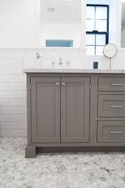 Office Bathroom Decorating Ideas Grey Shaker Style Vanity With Inset Doors By Rafterhouse