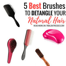 best hair brushes 5 best brushes to detangle your natural hair trials n tresses