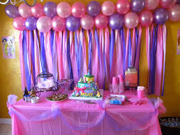 interior design creative princess themed birthday decorations