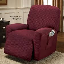 Loveseat With Recliner Raise The Bar Stretch Recliner Slipcovers