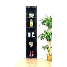 Corner Bookcase Wood Wooden Corner Shelves Furniture Bookcase White Wood Corner