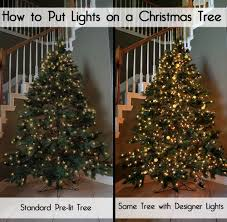 best way to hang christmas lights designer secrets for how to put lights on a christmas tree