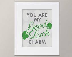 you are my good luck charm st patrick u0027s day children u0027s wall art