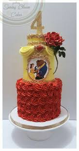 316 best disney u0027s beauty and the beast cakes images on pinterest