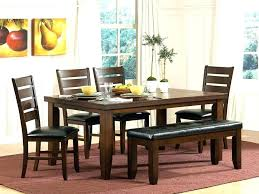rectangular tables rectangle dining table with bench benchmade