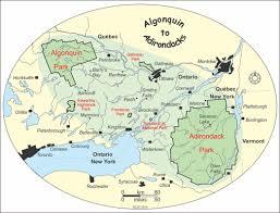Malone Ny Map Landscape
