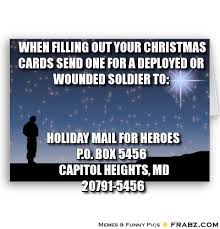 wounded soldiers by sending to this address your cards will be