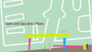 Create Floor Plan With Dimensions Gym And Spa Area Plans Gym Equipment Layout Floor Plan How To