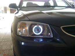led halo headlight accent lights diy projector headlights for accent team bhp