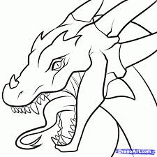 coloring pages easy dragon pictures easy dragon pictures to draw