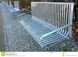 metal park benches royalty free stock photo image 1473875