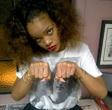rihanna tattoos pictures images pics photos of her tattoos