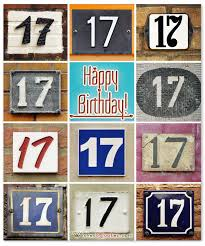 heartfelt 17th happy birthday wishes and images